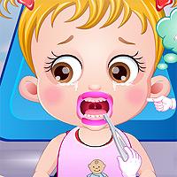 Игры лечить зубы малышке