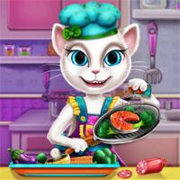 Игры для девочек бесплатно говорящий кот бесплатно на