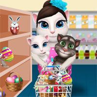 Игра анжела говорящий кот