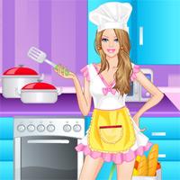 Игры барби готовит онлайн о